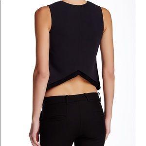 👚 A.L.C. Double layer silk blend sleeveless top